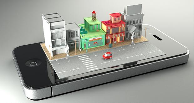iphone--diorama